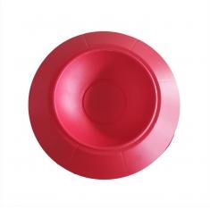 Κόκκινη Βάση Πασχαλινού αυγού για στρογγυλό κουτί 13xΥ16εκ.