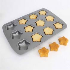 Non Stick 12 Cup Mini Star Pan by PME