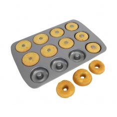 Non Stick 12 Cup Mini Donut Pan by PME