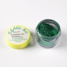 Disco Emerald Green glitter color NON Edible