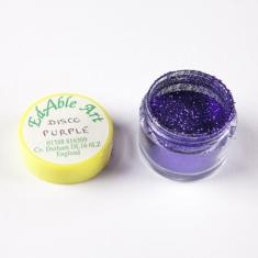 Disco Royal Purple glitter color NON Edible
