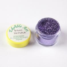 Disco Thistle glitter color NON Edible