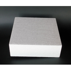 Styrofoam for Dummy cakes - Square 45x45xH10cm