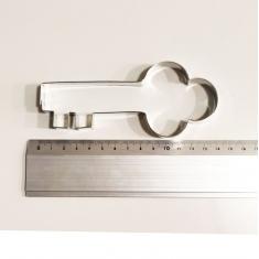 Διακοσμητικό Κλειδί Μεταλλικό Κουπάτ Μπισκότου 13,5x6εκ.