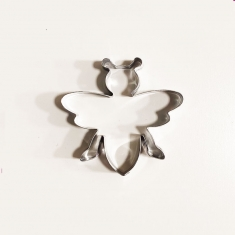 Bee Metallic Cookie Cutter 5,9x6cm