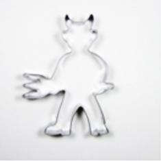 Little Devil Metallic Cookie Cutter 9,2x6,9cm