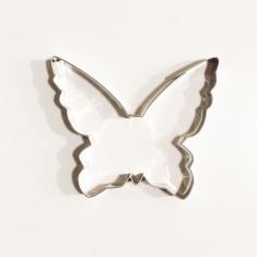 Πεταλούδα Μονάρχης Μεταλλικό Κουπάτ Μπισκότου 9x7,5εκ