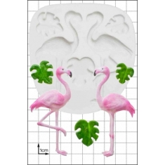 Flamingos Silicone Mould