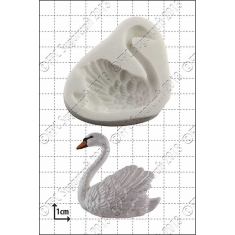Swan Left Silicone Mould