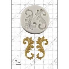 Καλούπι Σιλικόνης της FPC -  Διακοσμητικό σχέδιο (Curlicues)