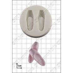 Καλούπι Σιλικόνης της FPC -  Πουέντ (Ballet Shoes)