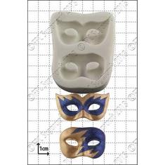 Καλούπι για Ζαχαρόπαστα - Σοκολάτα της FPC - Μάσκες Καρναβαλιού