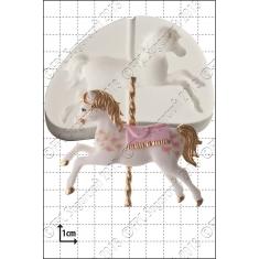 Καλούπι Σιλικόνης της FPC - Αλογάκι Καρουζέλ (Carousel Horse)