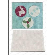 Καλούπι Σιλικόνης για αποτύπωση της FPC -  Πλεκτό (Knitting Texture Mat)