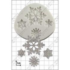 Νιφάδες Χιονιού Καλούπι Σιλικόνης της FPC