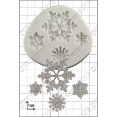 Snowflakes Silicone Mould