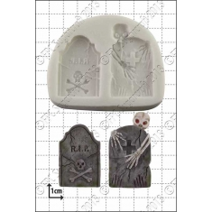 Tombstones Silicone Mould
