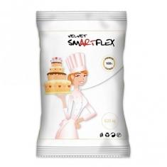Λευκή Ζαχαρόπαστα SmartFlex Velvet 250γρ.  Βανίλια