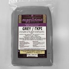 Ζαχαρόπαστα Sugarlicious Γκρί 250γρ
