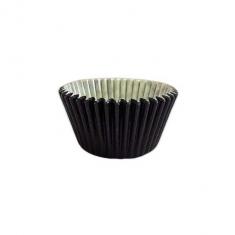 Μαύρα Αντικολλητικά Καραμελόχαρτα για Cupcakes/Muffins 180τεμ