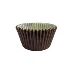Καφέ Αντικολλητικά Καραμελόχαρτα για Cupcakes/Muffins 180τεμ