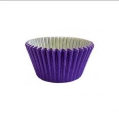 Μωβ Αντικολλητικά Καραμελόχαρτα για Cupcakes/Muffins 180τεμ
