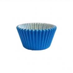 Έντονο Μπλε Αντικολλητικά Καραμελόχαρτα για Cupcakes/Muffins 180τεμ