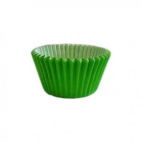 Spring / Light Green Greaseproof - Antistick Muffin Cases 180pcs