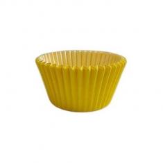 Κίτρινα Αντικολλητικά Καραμελόχαρτα για Cupcakes/Muffins 180τεμ