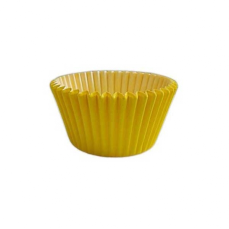 Yellow Greaseproof - Antistick Muffin Cases 180pcs