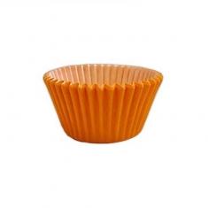 Πορτοκαλί Αντικολλητικά Καραμελόχαρτα για Cupcakes/Muffins 180τεμ