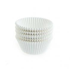 Λευκά Καραμελόχαρτα Επαγγελματικής Ποιότητας για Cupcakes/Muffins 500τεμ