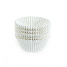 White Greaseproof - Antistick Muffin Cases 500pcs