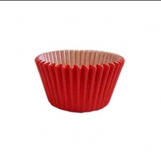 Red Greaseproof - Antistick Muffin Cases 180pcs