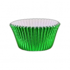 Emerald Green Foil Cupcake Cases (51mm x 38mm) x 500 pcs