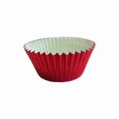 Red Foil Cupcake Cases (51mm x 38mm) x 500 pcs