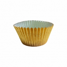 Gold Foil Cupcake Cases (51mm x 38mm) x 500pcs