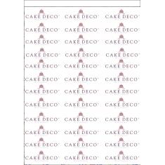 Edible Printing A4 Sugar Icing Sheets 24pcs