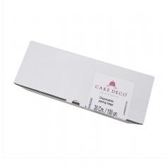Διάφανη Πλαστική Σακούλα Κορνέ 30εκ. 100τεμ. by Cake Deco