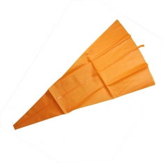SUPERFLEX Orange Reusable Silicone Piping Bag 65cm 1pc seamless