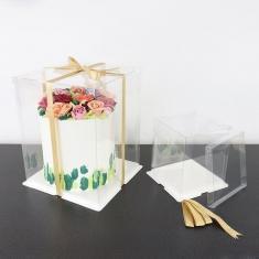Κουτί CRYSTAL για τούρτες της PME 15εκ. 6in.