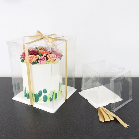 CRYSTAL Cake Box - 6 inch (15cm)