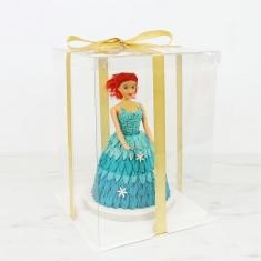 Κουτί CRYSTAL για τούρτες της PME 25εκ. 10in