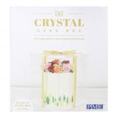 Κουτί CRYSTAL για τούρτες της PME 35εκ. 14in
