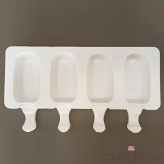 Oval Popsicle - Ice Cream Silicone Mould