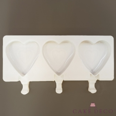 Heart Popsicle - Ice Cream Silicone Mould