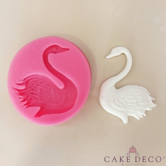 Decorated Swan Silicone Mould
