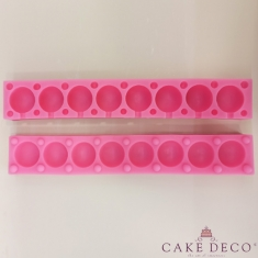 Silicone Mould for 8 Cake Pops/Lollies