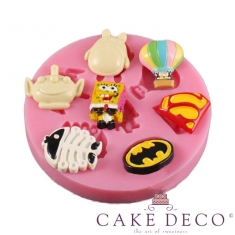 Various cartoon characters Silicone Mould