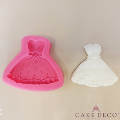 Dress Silicone Mould
